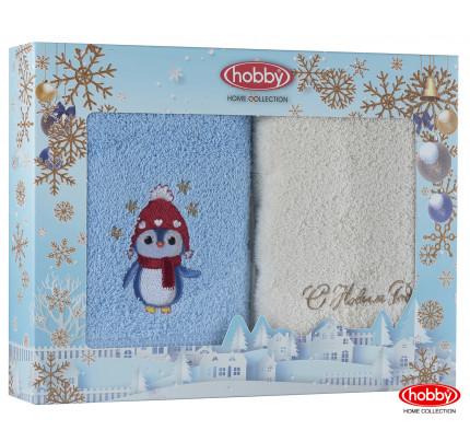 Набор новогодних полотенец Hobby Home A2 (50x90, 2 предмета)