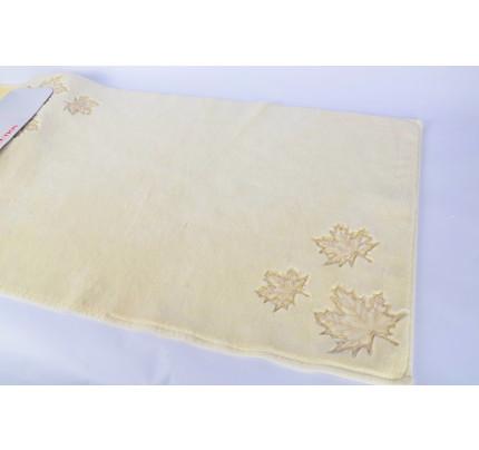 Набор ковриков Karven Leaf кремовый (50x60+60x100)