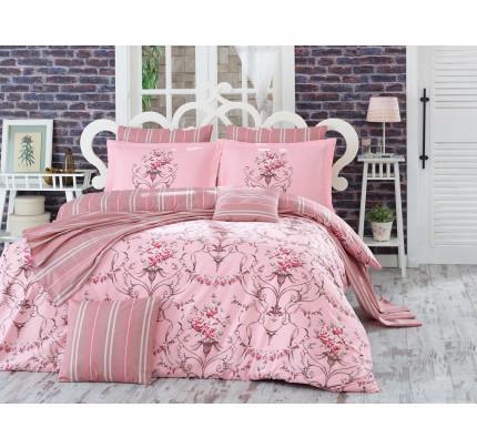 Постельное белье Hobby Home поплин Ornella (розовый)