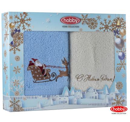 Набор новогодних полотенец Hobby Home A8 (50x90, 2 предмета)