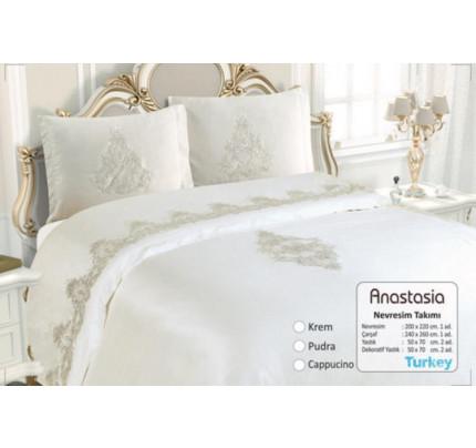 Постельное белье Essen Anastasia krem евро