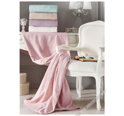 Покрывало Tivolyo Home Alora (розовое)