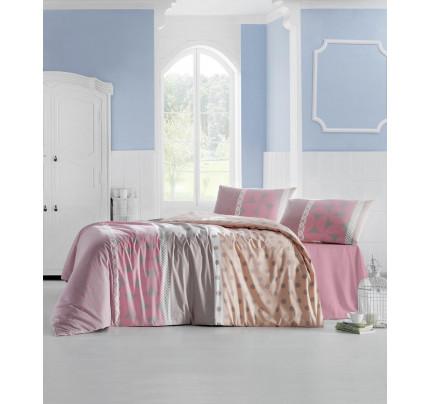 Постельное белье Altinbasak Aleda (розовый) евро