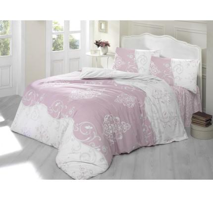 Постельное белье Altinbasak Melina (грязно-розовое)