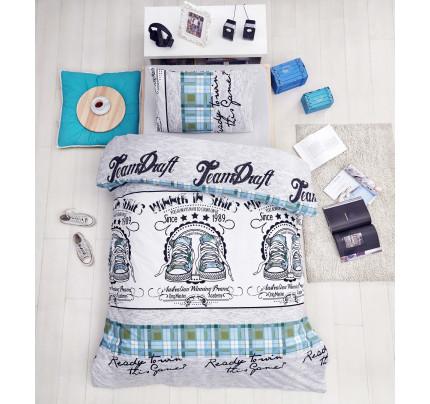 Детское постельное белье Altinbasak Molly (зеленое)