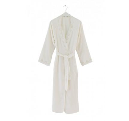 Халат женский Soft Cotton Angelic (кремовый)