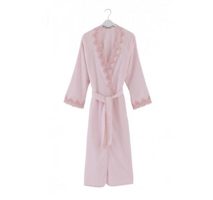 Халат женский Soft Cotton Angelic (розовый)