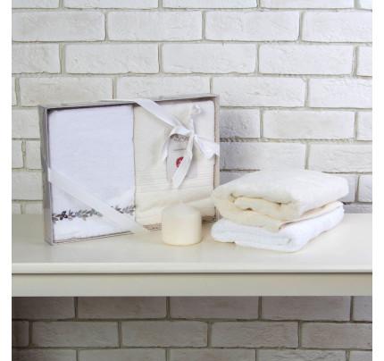 Набор полотенец Arya Archi (2 предмета, 50x90 см)