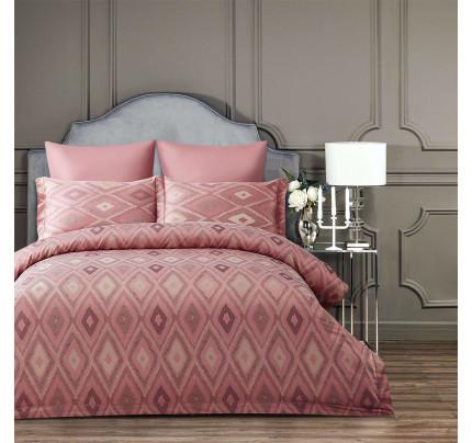 Постельное белье Arya Majestik Barton (розовое)