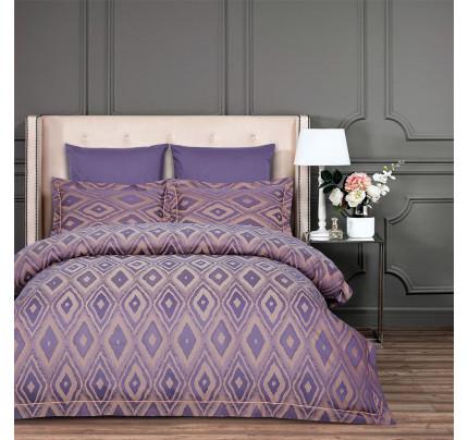 Постельное белье Arya Majestik Barton (фиолетовое)