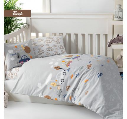 Детское белье в кроватку Arya Beep