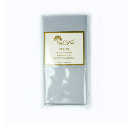 Наволочки Arya Camino (серый) 2 предмета