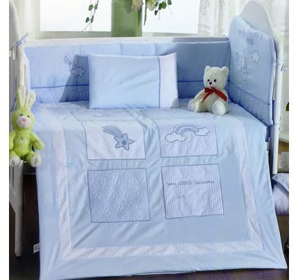 Детское белье в кроватку Arya Little Sailor