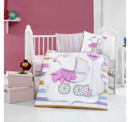 Детское белье в кроватку Arya Home Girl