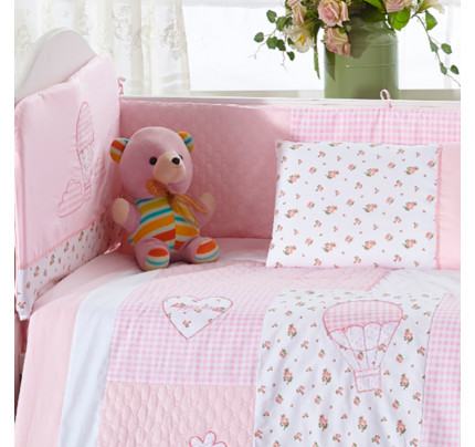 Бортики в кроватку Arya Honey (2 предмета)