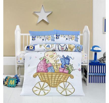 Детское белье в кроватку Arya Home Neseli