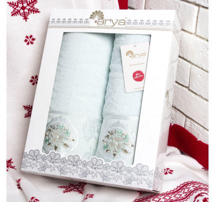Набор полотенец Arya Palona (2 предмета, мятный)