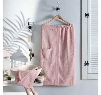 Набор для сауны женский Arya Sante (розовый)