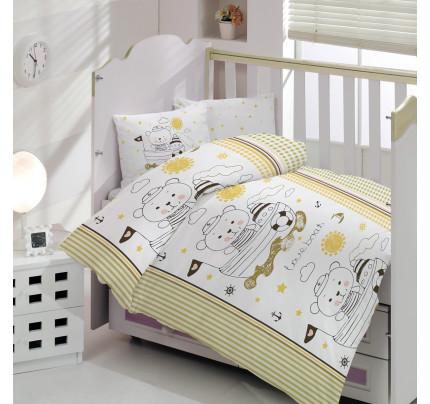 Детское белье в кроватку Arya Teddy