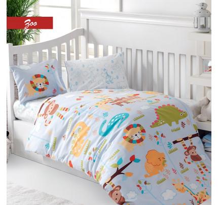 Детское белье в кроватку Arya Zoo
