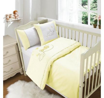 Sofi de Marko Мишутка на луне (светло-желтый) детский комплект в кроватку