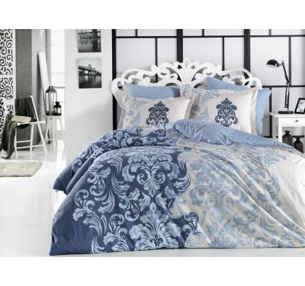 Постельное белье Hobby Home поплин Mirella (синий)