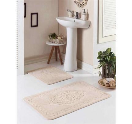 Набор ковриков Karven Osmanli слоновая кость (50x60+60x100)