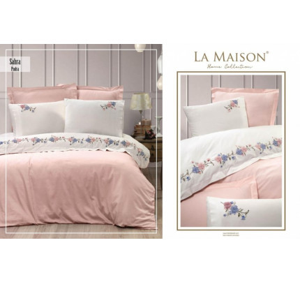 Постельное белье La Maison Sahra pudra евро