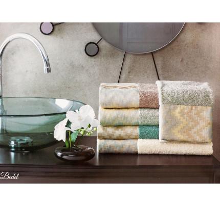 Набор полотенец La Villa Bedel (кремовый) 2 предмета