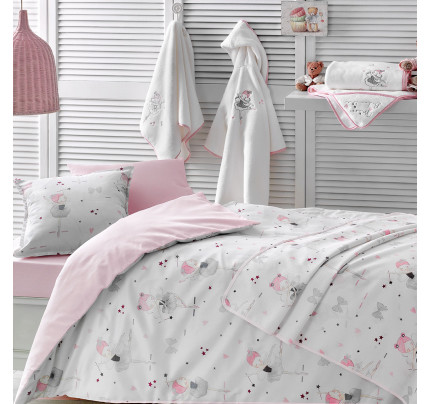 Постельное белье в кроватку Tivolyo Miss Balerine