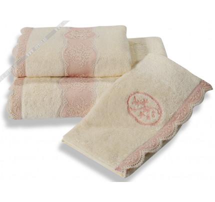 Полотенце Soft Cotton Buket (кремовое)