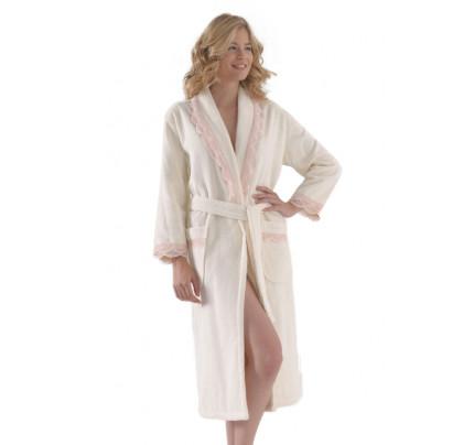 Халат женский Soft Cotton Buket (кремовый)