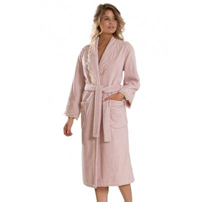 Халат женский Soft Cotton Buket (розовый)