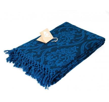 Плед Buldan's Risus (темно-синий) 130x170