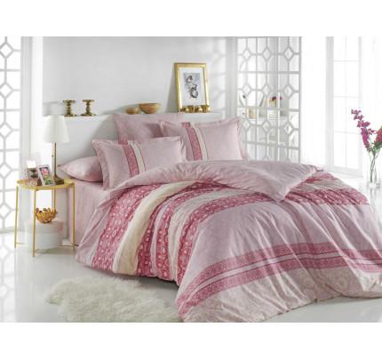 Постельное белье Hobby Home поплин Emma (розовый)