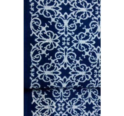 Набор полотенец Tivolyo Casablanca Flower (темно-синий) 2 предмета