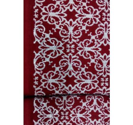 Набор полотенец Tivolyo Casablanca Flower (бордовый) 2 предмета