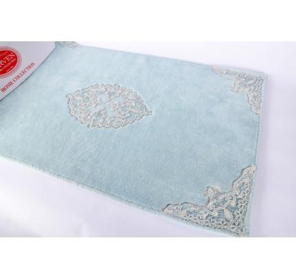 Набор ковриков Karven Tual бирюзовый (50x60+60x100)