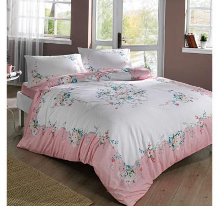 Постельное белье TAC Madelyn (розовый) евро