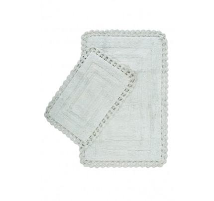 Набор ковриков Irya Debra yesil (40x60+60x90)