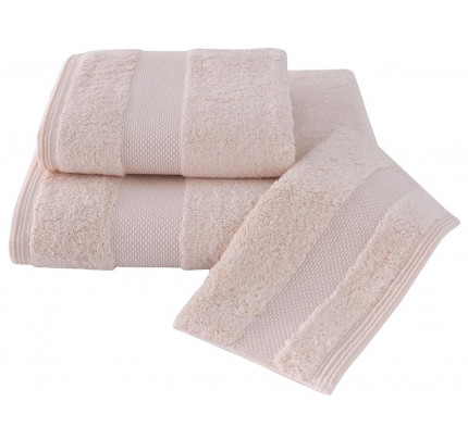 Набор полотенец Soft Cotton Deluxe (3 предмета, розовый)