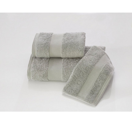 Полотенце Soft Сotton Deluxe (серое)