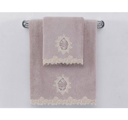 Полотенце Soft Сotton Destan (лиловое)