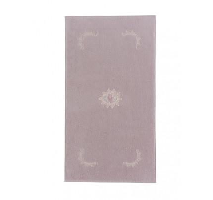 Полотенце-коврик для ног Soft Cotton Destan (лиловый) 50x90