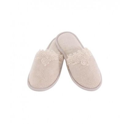 Тапочки Soft Cotton Destan (пудра)