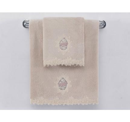 Полотенце Soft Сotton Destan (пудра)