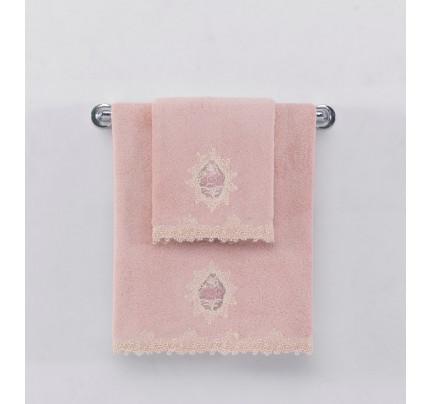 Набор полотенец Soft Cotton Destan (розовый) 3 предмета