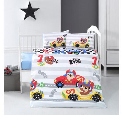 Детское белье в кроватку Arya Home Little Racer