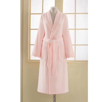 Халат женский Soft Cotton Diana (розовый)