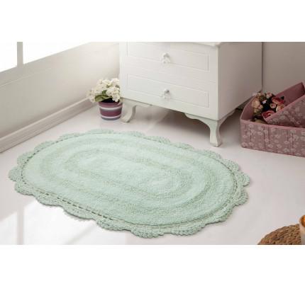 Набор ковриков для ног Modalin Diana (светло-зеленый) 50x80+45x60
